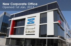 Corporate Office since 2013 january